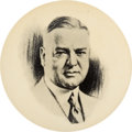 Political:Pinback Buttons (1896-present), Herbert Hoover: Large Picture Pin. ...