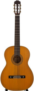 Musical Instruments:Acoustic Guitars, 1980's Takamine C132S Natural Classical Guitar, Serial Number #82110504....