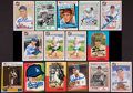 Baseball Cards:Autographs, Baseball Greats Signed Cards Lot of 15....