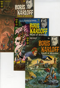Boris Karloff Tales of Mystery File Copy Group (Gold Key, 1968-79) Condition: Average VF/NM.... (Total: 35 Comic Books)