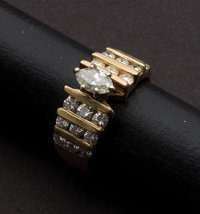Estate Diamond & Gold Ring