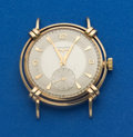 Timepieces:Wristwatch, Longines 14k Gold With Fancy Lugs Wristwatch. ...