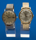 Timepieces:Wristwatch, Two Omega's Automatic Wristwatches. ... (Total: 2 Items)