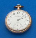 Timepieces:Pocket (post 1900), Ball 19 Jewel 16 Size . ...