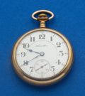 Timepieces:Pocket (post 1900), Hamilton 992 - 21 Jewel 16 Size Pocket Watch. ...