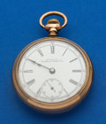Timepieces:Pocket (post 1900), Waltham 18 Size Pocket Watch. ...