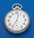 Timepieces:Pocket (post 1900), Hamilton 17 Jewel 16 Size Pocket Watch. ...