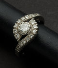 Estate Jewelry:Rings, Antique Diamond & Platinum Ring. ...