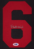 Baseball Collectibles:Others, Stan Musial Signed No. 6....