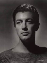 GEORGE HURRELL (American, 1904-1992) Robert Taylor, 1936 Gelatin silver, 1979 48 x 36 inches (121
