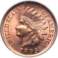 Indian Cents, 1895 1C MS66 Red PCGS. CAC....