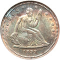 Seated Quarters, 1839 25C No Drapery MS64 NGC....