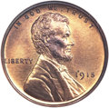 Proof Lincoln Cents, 1915 1C PR65 Red NGC....