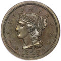 Proof Large Cents, 1848 1C PR64+ Brown PCGS. CAC. N-19, Low R.6. ...