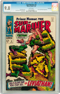 Silver Age (1956-1969):Superhero, The Sub-Mariner #3 Twin Cities pedigree (Marvel, 1968) CGC NM/MT 9.8 White pages....