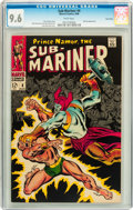 Silver Age (1956-1969):Superhero, The Sub-Mariner #4 Twin Cities pedigree (Marvel, 1968) CGC NM+ 9.6 White pages....