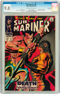 Silver Age (1956-1969):Superhero, The Sub-Mariner #6 Twin Cities pedigree (Marvel, 1968) CGC NM/MT 9.8 Off-white to white pages....