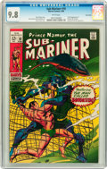Silver Age (1956-1969):Superhero, The Sub-Mariner #10 Twin Cities pedigree (Marvel, 1969) CGC NM/MT 9.8 White pages....