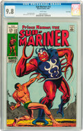 Silver Age (1956-1969):Superhero, The Sub-Mariner #12 Twin Cities pedigree (Marvel, 1969) CGC NM/MT 9.8 White pages....