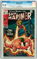 Silver Age (1956-1969):Superhero, The Sub-Mariner #17 Twin Cities pedigree (Marvel, 1969) CGC NM/MT 9.8 White pages....