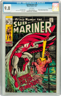 Silver Age (1956-1969):Superhero, The Sub-Mariner #19 Twin Cities pedigree (Marvel, 1969) CGC NM/MT 9.8 White pages....