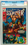 Bronze Age (1970-1979):Superhero, The Sub-Mariner #21 Twin Cities pedigree (Marvel, 1970) CGC NM+ 9.6 White pages....