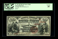 National Bank Notes:Pennsylvania, Bethlehem, PA - $20 1882 Brown Back Fr. 499 The Lehigh Valley NBCh. # (E)2050. PCGS Very Fine 35. While this bank h...