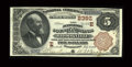 National Bank Notes:Pennsylvania, Brookville, PA - $5 1882 Brown Back Fr. 477 The Jefferson County NBCh. # (E)2392. An attractive pen signed example whic...