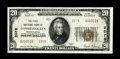 National Bank Notes:Pennsylvania, Conshohocken, PA - $20 1929 Ty. 2 The First NB Ch. # 2078. Only twoof this type and denomination are known from here, i...