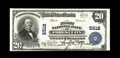 National Bank Notes:Pennsylvania, Forest City, PA - $20 1902 Plain Back Fr. 659 The First NB Ch. # 5518. Just four $20 Plain Backs are documented from her...