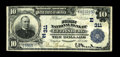 National Bank Notes:Pennsylvania, Gettysburg, PA - $10 1902 Plain Back Fr. 624 The First NB Ch. # (E)311. This locale is always in demand because of its c...
