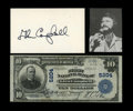 National Bank Notes:Pennsylvania, Glen Campbell, PA - $10 1902 Plain Back Fr. 632 The First NB Ch. #5204. While hardly a scarce bank, notes from here nev...