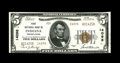 National Bank Notes:Pennsylvania, Indiana, PA - $5 1929 Ty. 2 First NB Ch. # 14098. While the papersurfaces are of unquestionable Gem quality, centering ...