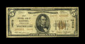 National Bank Notes:Pennsylvania, Koppel, PA - $5 1929 Ty. 2 First NB Ch. # 14070. This late chartered 14000 series charter number issued the $5 Type 2 on...