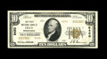 National Bank Notes:Pennsylvania, Lilly, PA - $10 1929 Ty. 2 The First NB Ch. # 8450. This was theonly issuer from this Cambria County locale and ordered...