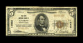 National Bank Notes:Pennsylvania, Lykens, PA - $5 1929 Ty. 1 The First NB Ch. # 11062. A scarce notefrom the only bank to issue from this locale. Fine,...