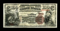 National Bank Notes:Pennsylvania, Philadelphia, PA - $100 1882 Brown Back Fr. 520 The Union NB Ch. #563. This $100 Brown Back has long been listed in the...