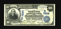 National Bank Notes:Pennsylvania, Philadelphia, PA - $10 1902 Date Back Fr. 616 The Textile NB Ch. # (E)7522. A nice note bearing one of the more unusual ...