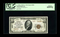 National Bank Notes:Pennsylvania, Pittsburgh, PA - $10 1929 Ty. 2 The Mellon NB Ch. # 6301. This PCGS Gem New 65PPQ is from the second sheet printed a...