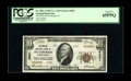 National Bank Notes:Pennsylvania, Pittsburgh, PA - $10 1929 Ty. 2 The Mellon NB Ch. # 6301. A PCGSGem New 65PPQ enhanced by serial A099999. Prior to ...