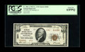 National Bank Notes:Pennsylvania, Pittsburgh, PA - $10 1929 Ty. 2 The Mellon NB Ch. # 6301. PCGSChoice New 63PPQ due solely to a light counting mark ...