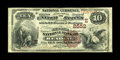 National Bank Notes:Pennsylvania, Reading, PA - $10 1882 Brown Back Fr. 490 The Second NB Ch. #(E)2552. Although the census from here now stands at a dec...