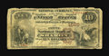 National Bank Notes:Pennsylvania, Sharon, PA - $10 1882 Brown Back Fr. 483 The First NB Ch. # 1685.This discovery and addition to the census is the very ...