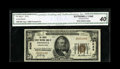 National Bank Notes:Pennsylvania, Tionesta, PA - $50 1929 Ty. 1 The Forest County NB Ch. # 5038. Abright and crisp CGA Extremely Fine 40 with the loo...