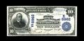 National Bank Notes:Pennsylvania, Trafford City, PA - $10 1902 Date Back Fr. 616 The First NB Ch. # (E)6962. A well centered Extremely Fine-About Uncirc...