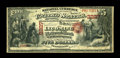 National Bank Notes:Pennsylvania, Williamsport, PA - $5 Original Fr. 399 The Lycoming NB Ch. # 2227.This is the only Original Series example of any denom...