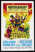"Movie Posters:Bad Girl, Savage Sisters (American International, 1974). One Sheets (2) (27""X 41"") Styles A and B. Bad Girl. ... (Total: 2 Items)"