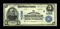 National Bank Notes:Tennessee, Cleveland, TN - $5 1902 Plain Back Fr. 600 The Cleveland NB Ch. #(S)1666. This moderately circulated issue is a standou...