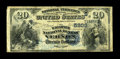 Vernon, TX - $20 1882 Date Back Fr. 555 The Waggoner NB Ch. # 5203 This is the first $20 1882 Date Back to surface from...