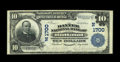 National Bank Notes:Vermont, Rutland, VT - $10 1902 Plain Back Fr. 627 The Baxter NB Ch. # (N)1700. This Fine-Very Fine note is one of just three...